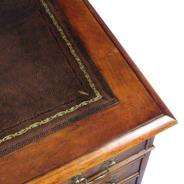 Client desk close-up